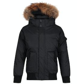 Kurtka puchowa Pyrenex Jami Fur - Black