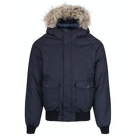 Pyrenex Mistral Fur Down Jacket - Amiral