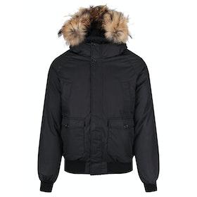 Pyrenex Mistral Fur Down Jacket - Black