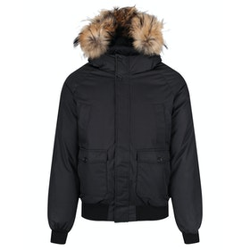 Kurtka puchowa Pyrenex Mistral Fur - Black