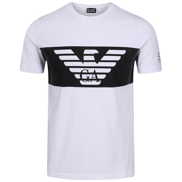 EA7 Cotton Stretch Short Sleeve T-Shirt