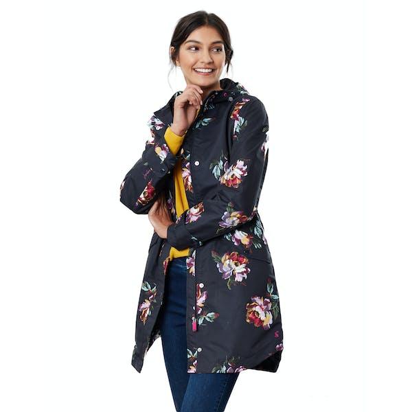 Joules Loxley Print Women's Waterproof Jacket