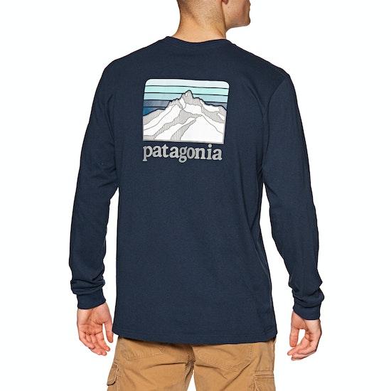 Patagonia Line Logo Ridge Responsibilitee Long Sleeve T-Shirt