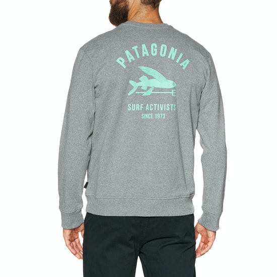 Patagonia Surf Activists Uprisal Crew Sweater
