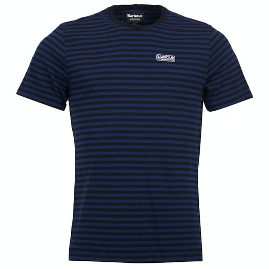 T-Shirt a Manica Corta Barbour International Equal Stripe