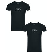 Emporio Armani Core Eagle Two Pack Short Sleeve T-Shirt