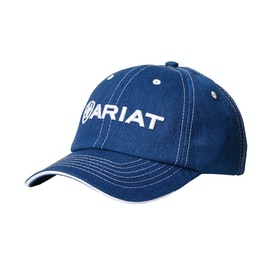 Ariat Team II Cap - Heather Blue White