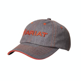 Ariat Team II , Cap - Heather Grey Red Clay