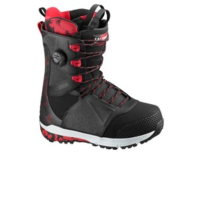 Salomon Lo Fi Snowboard Boots - Black/tango Red/beluga