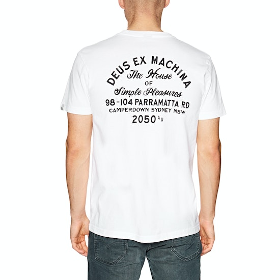 Deus Ex Machina Camperdown Address Short Sleeve T-Shirt