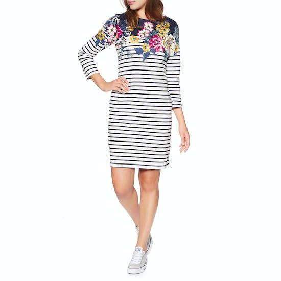 Joules Riviera Short Sleeve Jersey Print Kleid