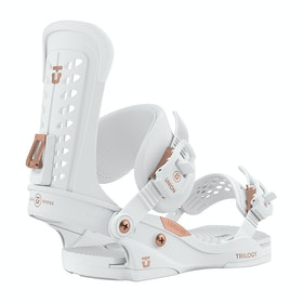 Snowboard Bindings Femme Union Trilogy - White
