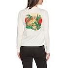 RVCA Tiger Attack Ladies Long Sleeve T-Shirt