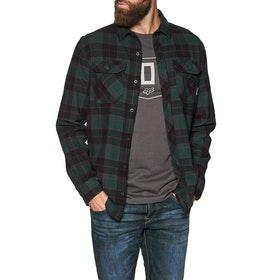 Fox Racing Traildust 2.0 Flannel Shirt - Emerald Green