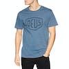 T-Shirt à Manche Courte Deus Ex Machina Shield - Light Indigo