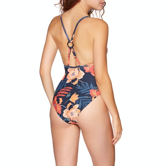 Seafolly On Vacation Ring Front Maillot Womens Swimsuit