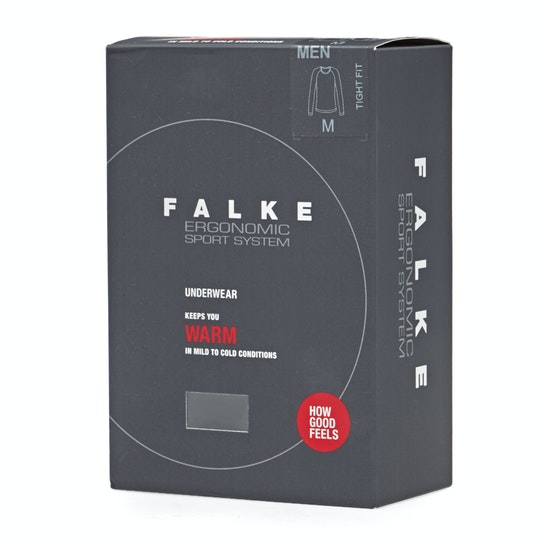 Falke Warm Long sleeved Tight Base Layer Top