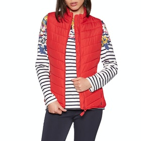 Joules Fallow Womens Body Warmer - Red