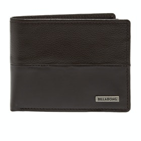 Billabong Fifty50 ID Leather Wallet - Chocolate