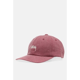 Stussy Washed Ripstop Low Pro Cap - Red
