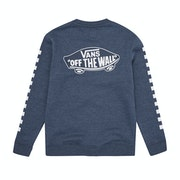 Vans Exposition Check Crew Boys Sweater