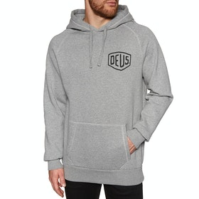Deus Ex Machina Camperdown Address Pullover Hoody - Grey Marle