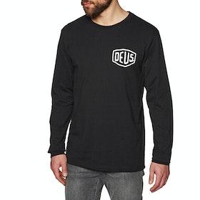 T-Shirt a Manica Lunga Deus Ex Machina Camperdown - Black