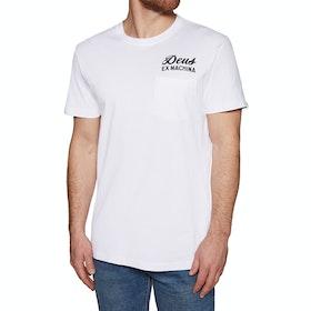 T-Shirt a Manica Corta Deus Ex Machina Canggu Address - White