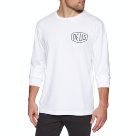 Deus Ex Machina Tokyo Long Sleeve T-Shirt - White