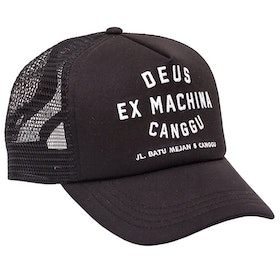 Шапка Deus Ex Machina Canggu Address Trucker - Black