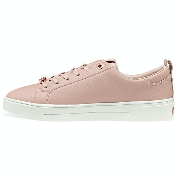 Ted Baker Tedah Branded Leather Trainer Damen Schuhe