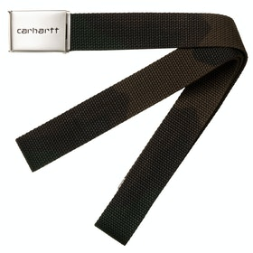 Carhartt Clip Chrome Web Belt - Camo Evergreen
