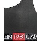 Reggiseno Calvin Klein 1981 Bold Cotton Unlined Bralette