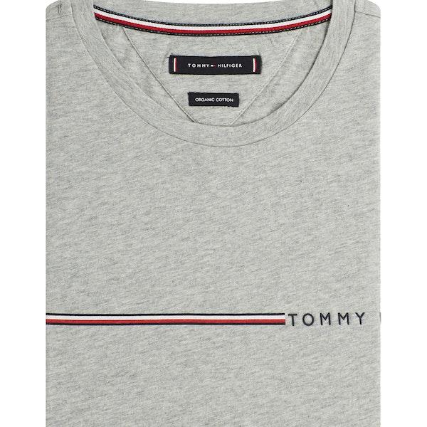 Tommy Hilfiger Logo Stripe Kortermet t-skjorte