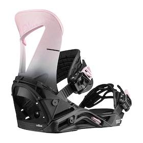 Salomon Hologram Womens Snowboard Bindings - Black/pink