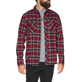 Fox Racing Fusion Tech Flannel Shirt - Cardinal Red