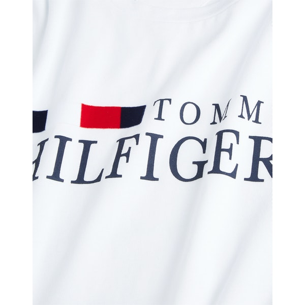 Tommy Hilfiger Organic Cotton Logo Kortermet t-skjorte