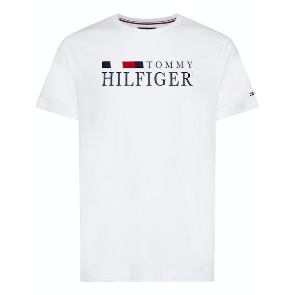 Tommy Hilfiger Organic Cotton Logo T-Shirt Korte Mouwen
