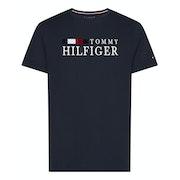 T-Shirt a Manica Corta Tommy Hilfiger Organic Cotton Logo