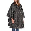 Joules Printed Womens Poncho - Black Bee