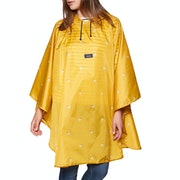 Joules Printed Womens Poncho