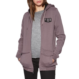 Fox Racing Lit Up Sherpa Fleece Womens Zip Hoody - Purple Haze