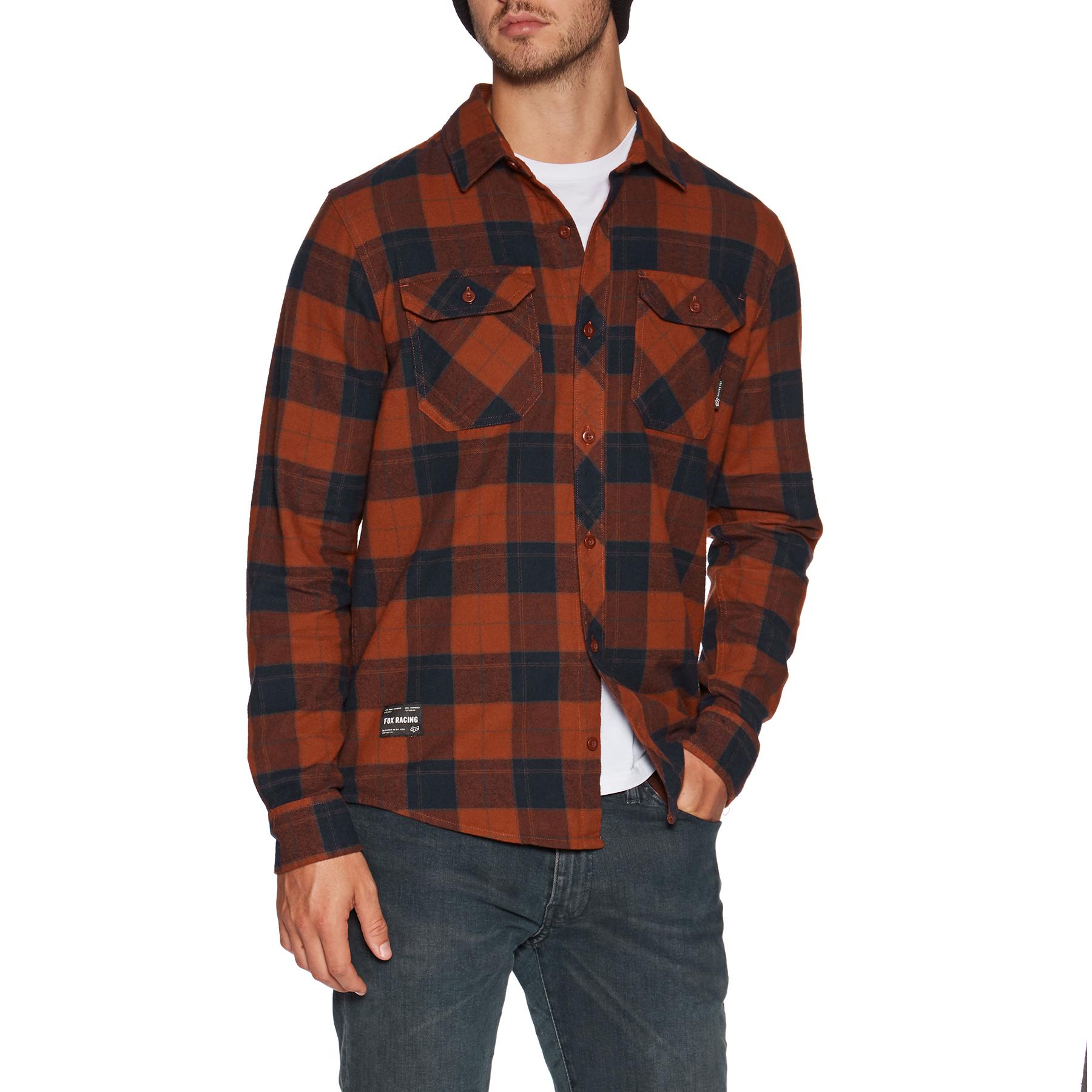 Fox Mens Traildust Flannel