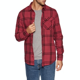 Fox Racing Voyd 2.0 Flannel Shirt - Cardinal Red