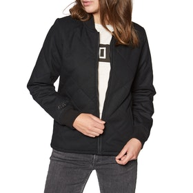 Fox Racing Cosmic Bomber Womens Jacket - Black