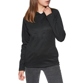 Fox Racing Real Thing Womens Pullover Hoody - Black