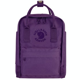 Fjallraven Re Kanken Mini , Ryggsekker - Deep Violet
