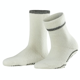 Falke Cuddle Pads Women's Socks - Off White