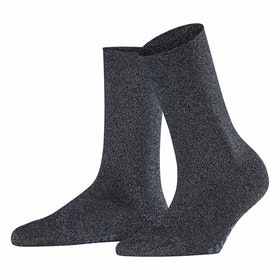 Falke Shiny Women's Socks - Dark Navy
