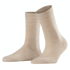 Falke Softmerino Women's Socks - Linen Mel